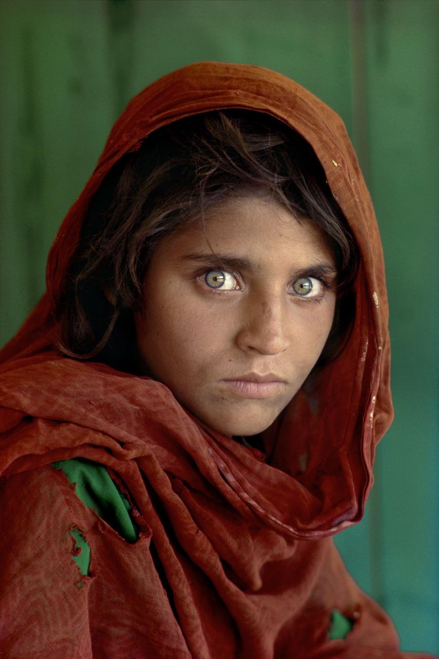 ragazza afgana, foto di Steve McCurry