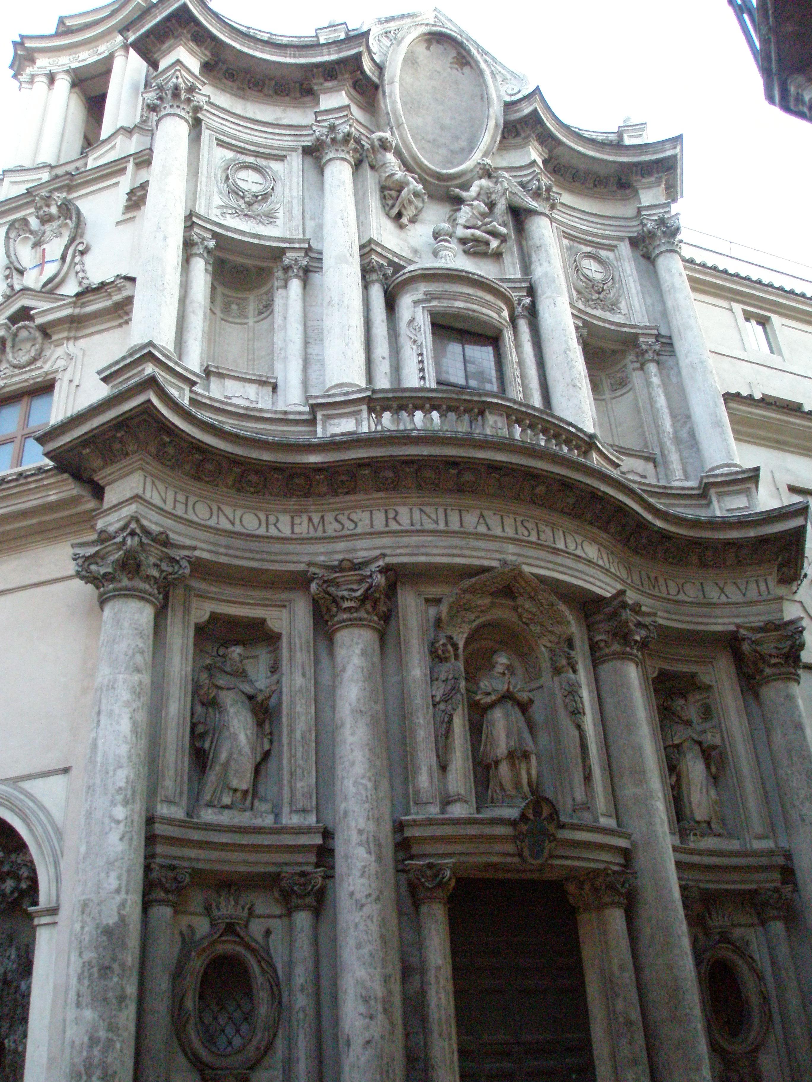 Borromini, Chiesa di San Carlo alle Quattro Fontane - Roma;