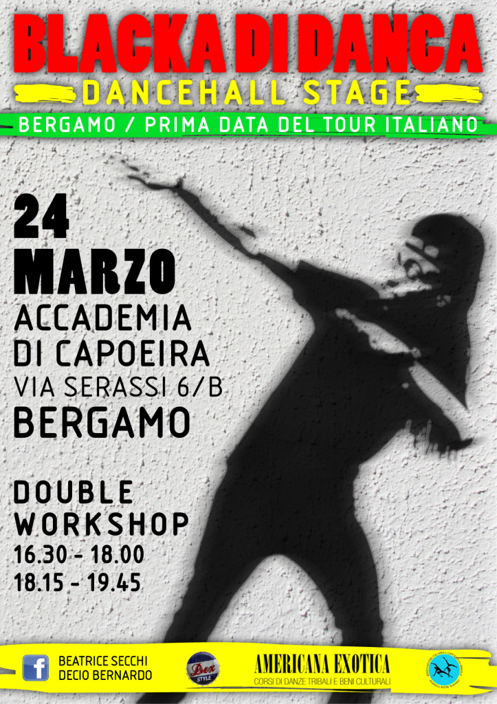 Flyer Blacka Bergamo