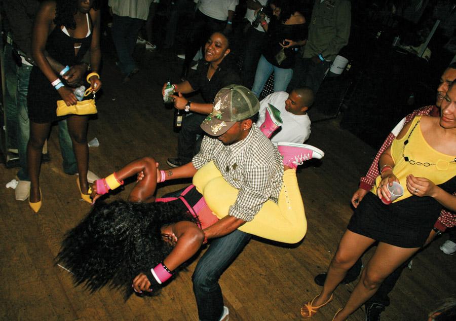 Dancehall Daggering - una forma di ballo in Jamaica.