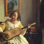 Johannes Vermeer, La suonatrice di chitarra, 1672 ca