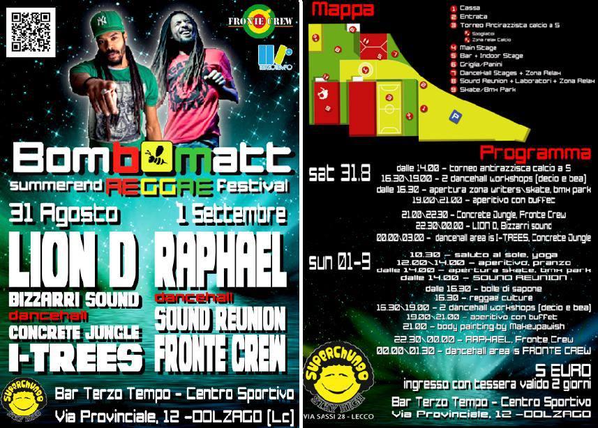 """ombomatt"""" Summerend Reggae Festival"""