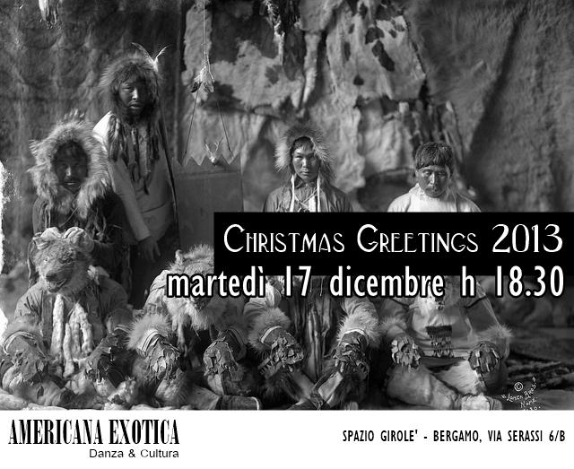 flyer natalizio americana exotica