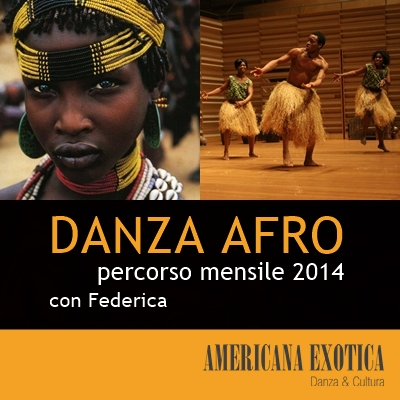 flyer afro Americana Exotica