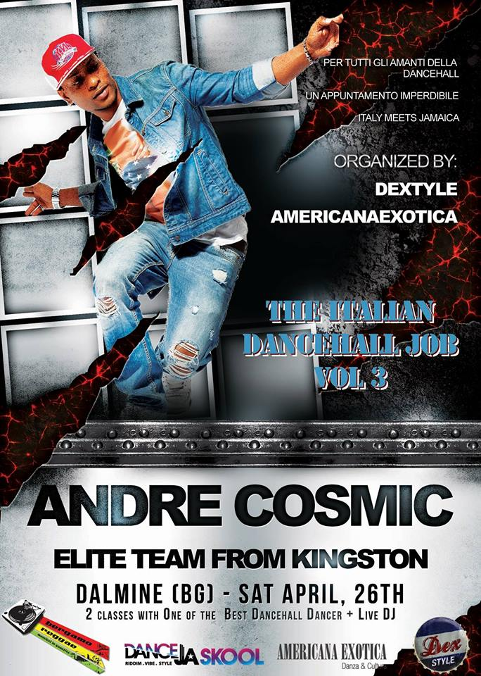Flyer Andre Cosmic