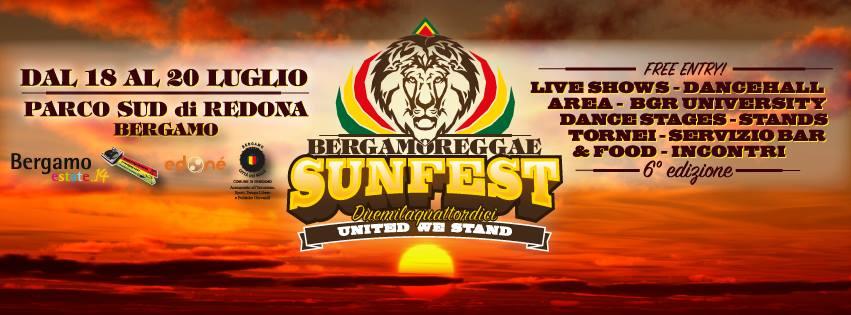 Bergamoreggae Sunfest 2014