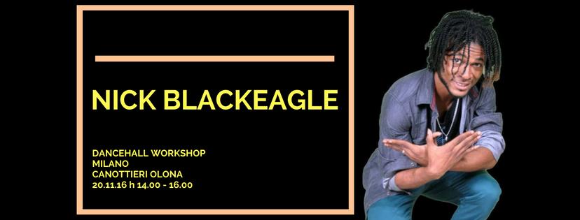 Nick Black Eagle Dancehall Workshop Milano